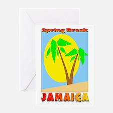 Spring Break Jamaica Greeting Card