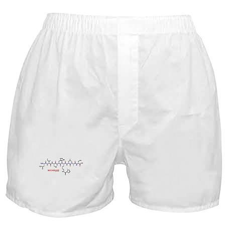 Nicholas name molecule Boxer Shorts