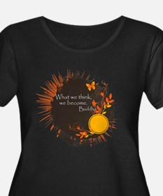 Buddha Quote Plus Size T-Shirt