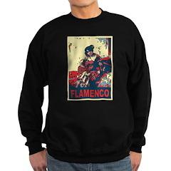 Flamenco Guitar Player Woman Sweatshirt