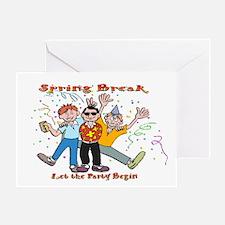 Spring Break Party Greeting Card