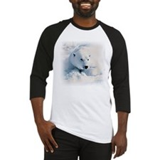 Polar Bear & Snow Baseball Jersey