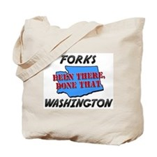 forks washington - been there, done that Tote Bag