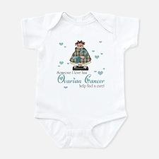Someone I love Ovarian Cancer Infant Bodysuit