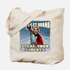 Obama stealing America Tote Bag
