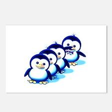 Flock of Penguins 2 Postcards (Package of 8)