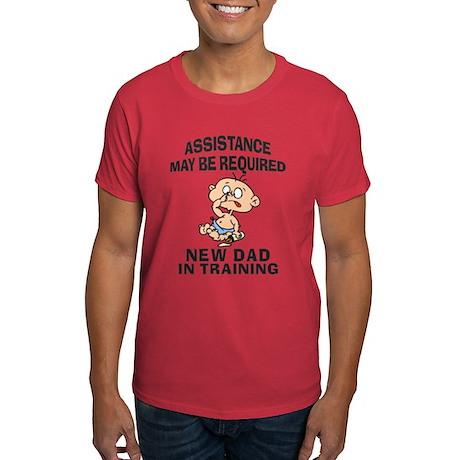 New Dad In Training Dark T-Shirt