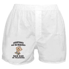 New Dad In Training Boxer Shorts