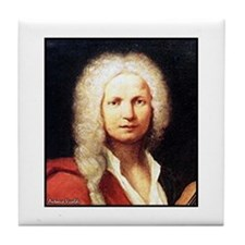 "Faces ""Vivaldi"" Tile Coaster"