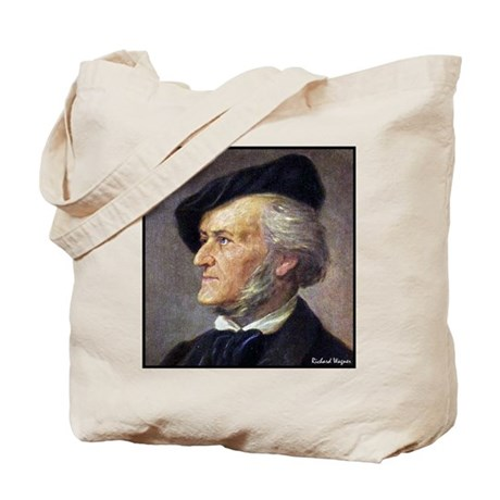 """Faces """"Wagner"""" Tote Bag"""