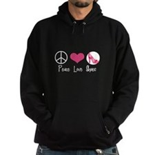 Peace Love Shoes Hoodie
