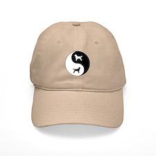 Yin Yang Flatcoat Baseball Cap