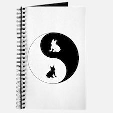 Yin Yang French Bulldog Journal