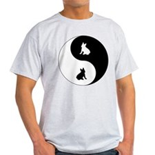 Yin Yang French Bulldog T-Shirt