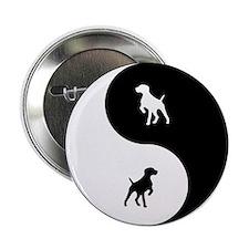 """Yin Yang GSP 2.25"""" Button"""
