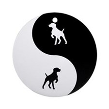 Yin Yang GSP Ornament (Round)