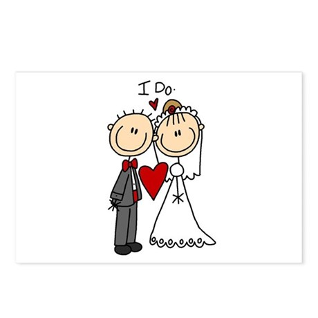 I Do Wedding Postcards (Package of 8)