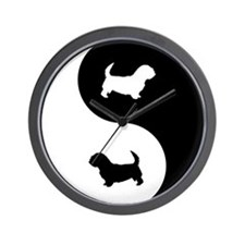 Yin Yang Glen Wall Clock
