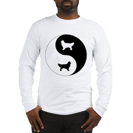 Yin Yang Golden Long Sleeve T-Shirt