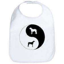 Yin Yang Wolfhound Bib