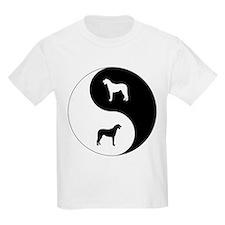 Yin Yang Wolfhound T-Shirt