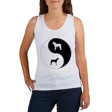 Yin Yang Wolfhound Women's Tank Top