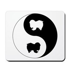 Yin Yang Chin Mousepad