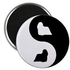 Yin Yang Komondor Magnet