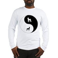 Yin Yang Min Pin Long Sleeve T-Shirt