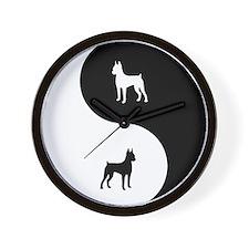 Yin Yang Min Pin Wall Clock
