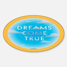 Dreams Oval Decal