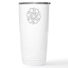 B/W Harmony Travel Coffee Mug