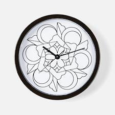 B/W Harmony Wall Clock