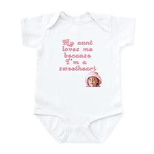My Aunt Loves Me Infant Bodysuit