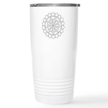 B/W Grace Stainless Steel Travel Mug