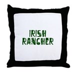 Irish Rancher Throw Pillow