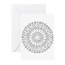 B/W Healing Greeting Cards (Pk of 20)