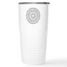 B/W Healing Travel Coffee Mug