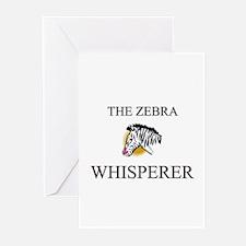 The Zebra Whisperer Greeting Cards (Pk of 10)