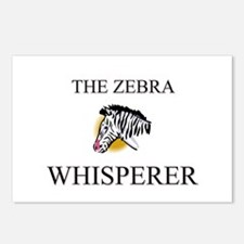 The Zebra Whisperer Postcards (Package of 8)