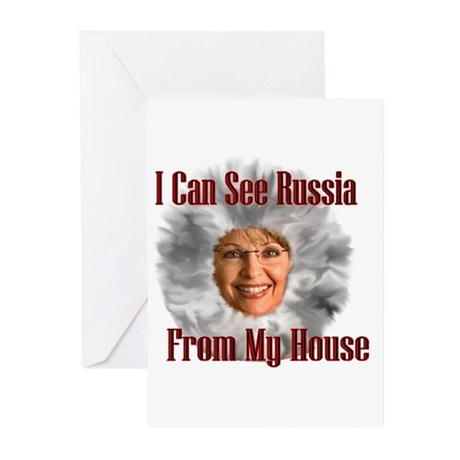 Russia I see you! Greeting Cards (Pk of 20)