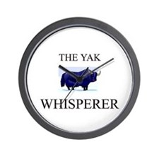 The Yak Whisperer Wall Clock