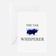 The Yak Whisperer Greeting Cards (Pk of 10)