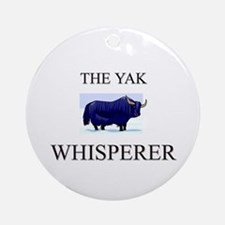 The Yak Whisperer Ornament (Round)