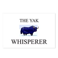 The Yak Whisperer Postcards (Package of 8)