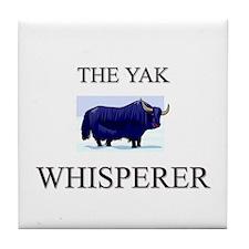 The Yak Whisperer Tile Coaster