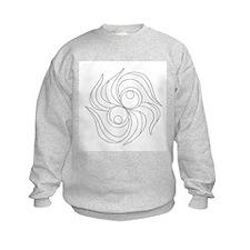 B/W Release and Let Go Sweatshirt