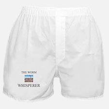 The Worm Whisperer Boxer Shorts