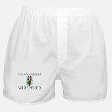 The Woodpecker Whisperer Boxer Shorts