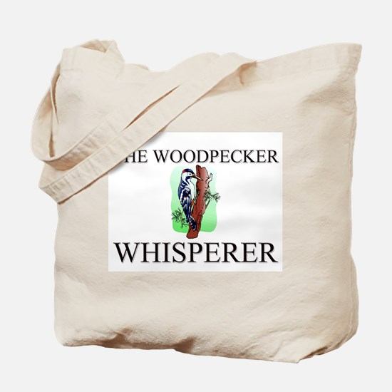 The Woodpecker Whisperer Tote Bag